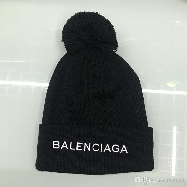 7df42a7d 2018 Top Brand Designer Knitted Hats for Men And Women Beanies ...