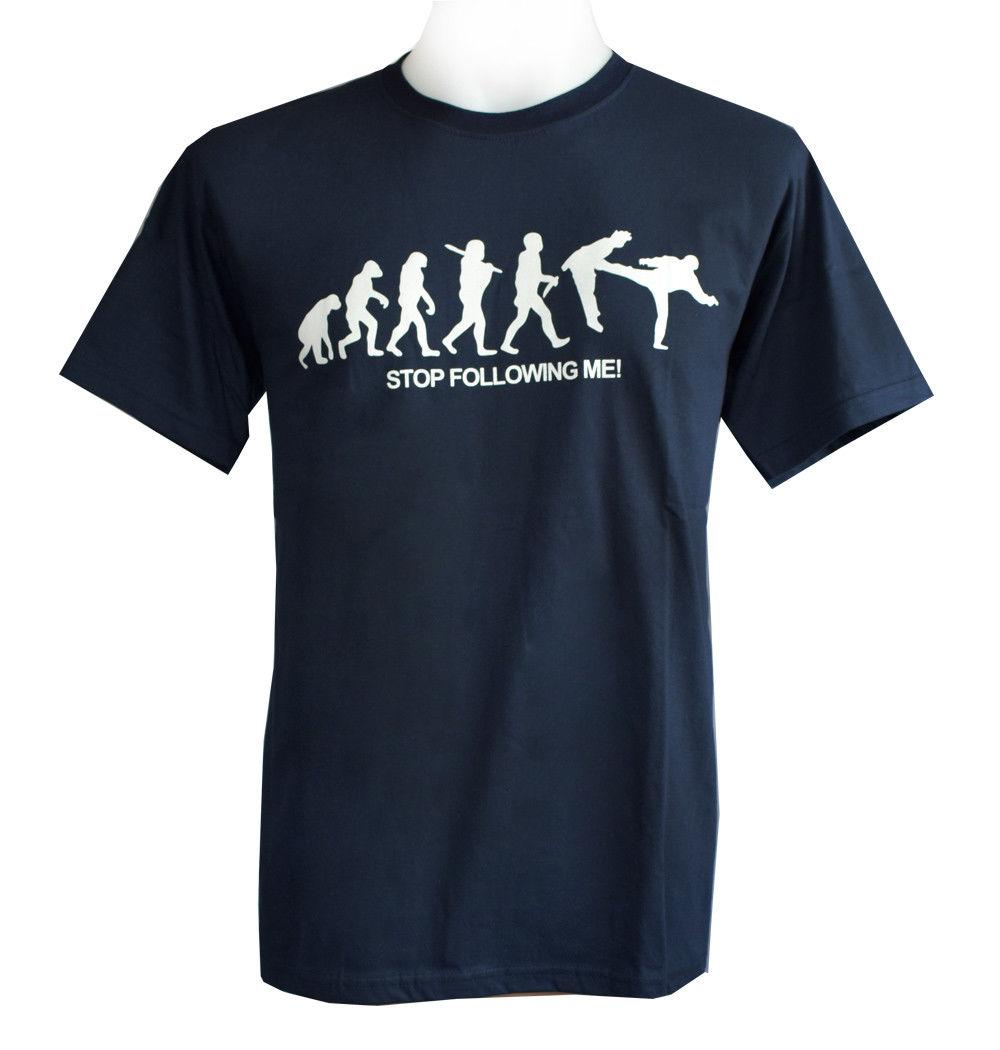 Evolution T Shirt Affe Mensch Stop Following Me Monkey Human Coole Sprüche  LFunny Unisex Casual Tshirt Buy Cool T Shirts Online Funny Offensive T  Shirts ...