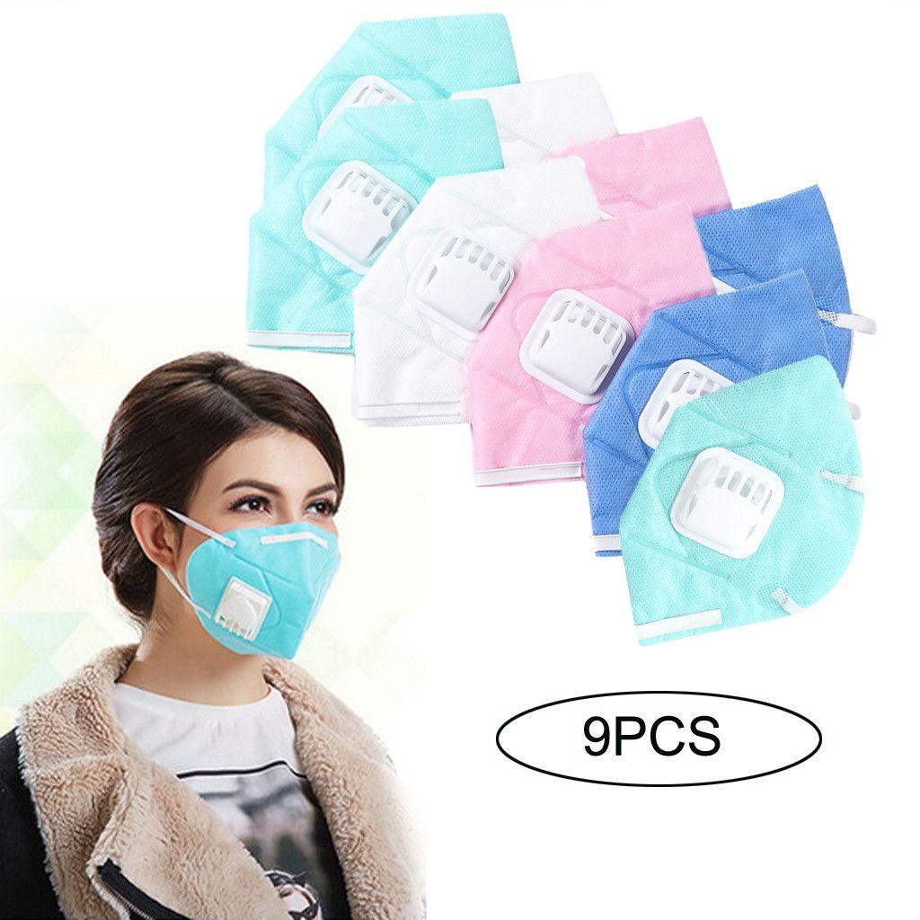 Masken Einfache Unisex Atmungsaktive Anti-staub Baumwolle Mund Gesicht Maske Outdoor Radfahren Atemschutz Für Frauen Mann
