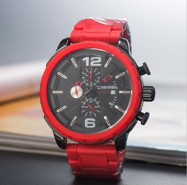 Mens luxury watch Brand dies watches Fashion red straps full-featured Watch new hot selling women Wristwatches world famous top Watches