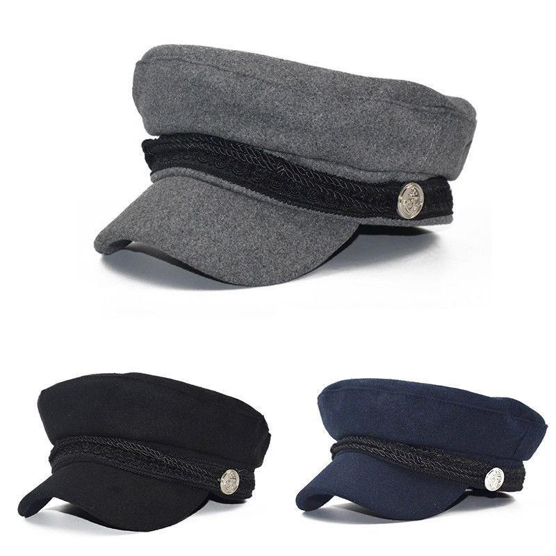 Ladies Womens Girls Wool Blend Baker Boy Peaked Cap Newsboy Beret Hat  Travel Hats UK 2019 From Wonderliu 88ff99f5db62