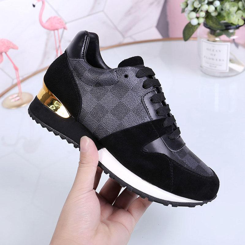 Womens Fashion Shoes Footwears with Original Box Run Away Sneaker W#47 Breathable Chaussures de femmes Fashion Shoes for Women Hot Sale