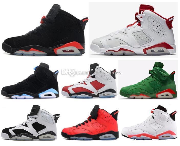 bd2c0c2fd16b51 2019 New 6 Black Infrared Basketball Shoes Men 6s Hare Alternate 91 ...