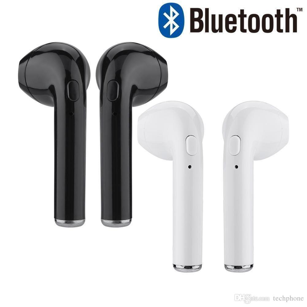 I7S Wireless Earbud Headsets Bluetooth 4 2 Earphone In-Ear Headphone  Universal for iOS / Android system retail package