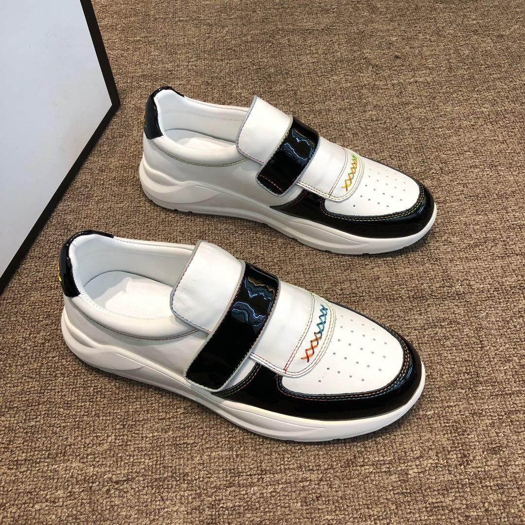 9da1d55adbd Compre Zapatos De Diseñador Para Hombre Zapatillas De Diseñador Zapatillas  De Deporte De Corte Bajo Para Hombre Y Mujer Zapatillas De Cuero Zapatillas  De ...