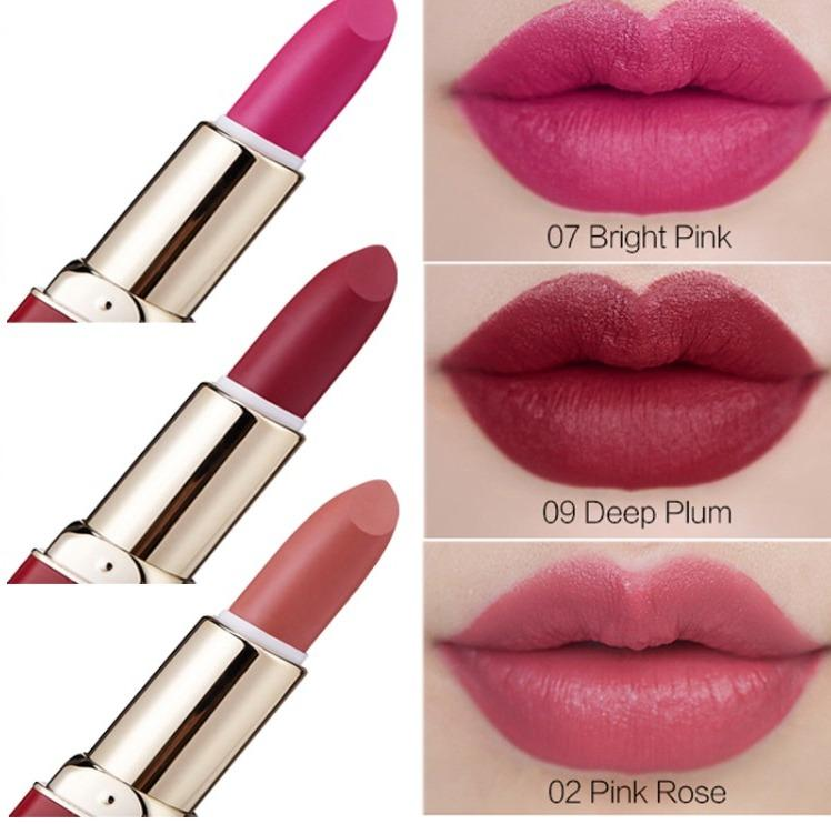 Quality 12 Color Matte Lipstick Waterproof Velvet Nude Lip Stick Make Up Long Lasting Red Mate Sexy Lip No Fade Beauty Cosmetic