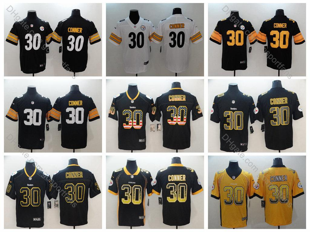 pretty nice c2dea 0d9fe 2019 Steelers James Conner Jersey #30 Pittsburgh 2019 Camo Salute to  Service Vapor Untouchable James Conner Football Jerseys Stitched S-XXXL