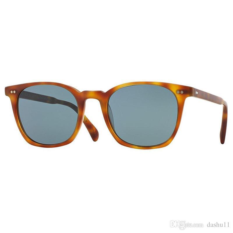353bf790e3 Compre Oliver Peoples Square Gafas De Sol Polarizadas Mujer Diseñador De La  Marca 2018 L.A.Coen Vintage Gafas De Sol Femeninas Hombres OV5297 Shades  UV400 A ...