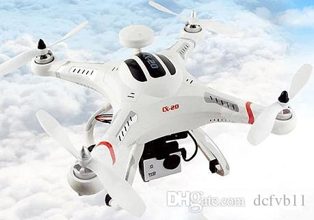 Cheerson CX - 20 GPS Auto Pathfinder Open - Source Flight Controller  Quadcopter with Camera Mounting Base - White