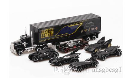 Compre Batman Nuevo Carro De Aleacion Juguetes De Traje 6 Carros