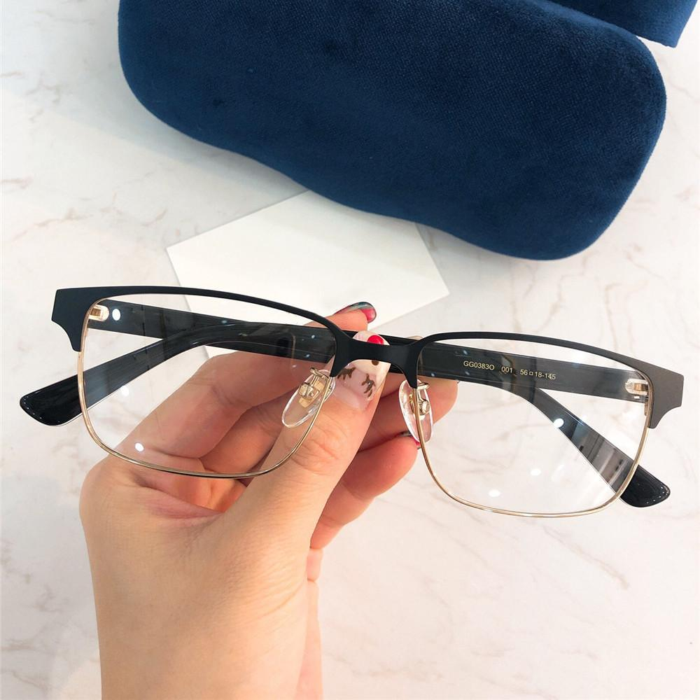 f6b8b13812d 2019 Rectangle Sunglasses Famous Designer Business Leisure Optical Glasses  High Quality UV Protection Sunglasses Fashion Eyewear With Box Mirrored ...