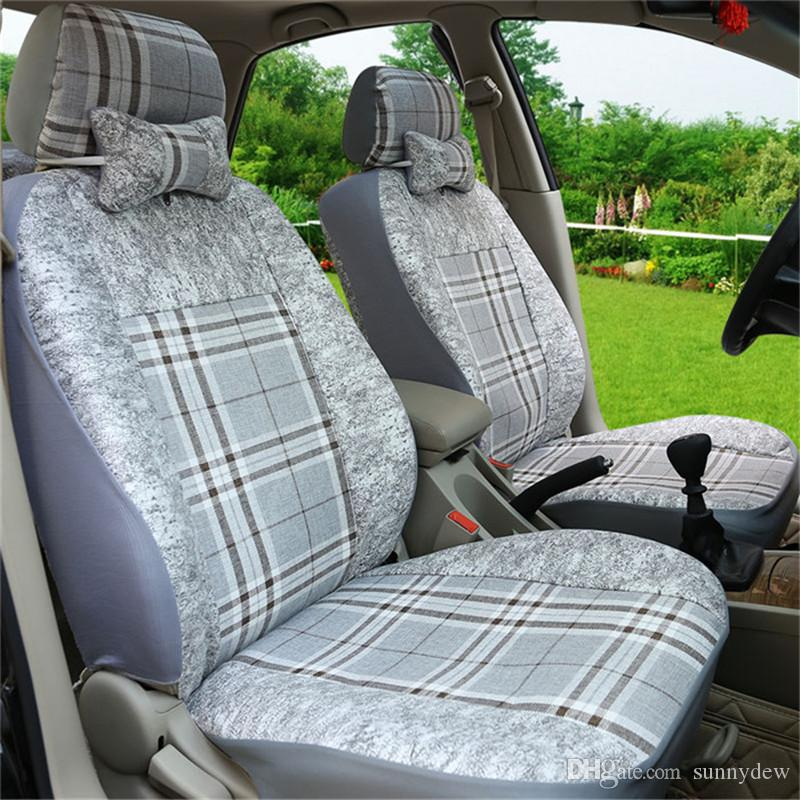 universal all-inclusive car seat cover cloth Full Seat Covers Fittings Auto Interior Car Accessories Suitable For Car Care Seat Protector