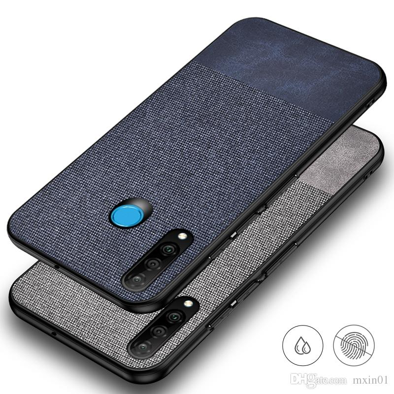 san francisco a4be9 b247f Cloth Fabric PU Leather Silicone TPU Case For Huawei P20 P30 Pro Mate 10 20  RS Lite Nova 3 4 4E Y6 Y7 Pro 2019 Y9 2018 Honor 8C 8X 8A