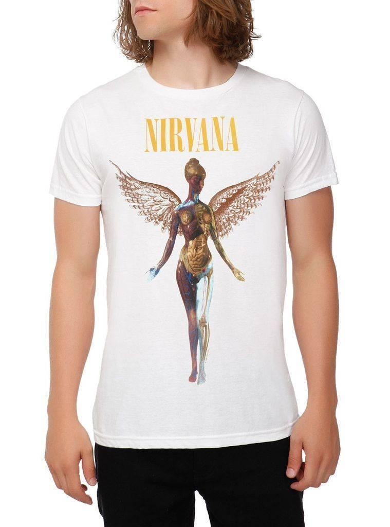 fd7d70ba Nirvana In Utero T Shirt SM, MD, LG, XL, XXL New XXXL Printed Summer Style  Tees Male Harajuku Top Cool T Shirts For Men Cheap Tee Shirts From  Lijian75, ...