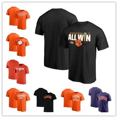 8322ddbfca57 2019 Clemson Tigers Fanatics Branded College Football Playoff 2016 National Champions  Big   Tall Linebacker T Shirt Size S 3xl From Hellomicki
