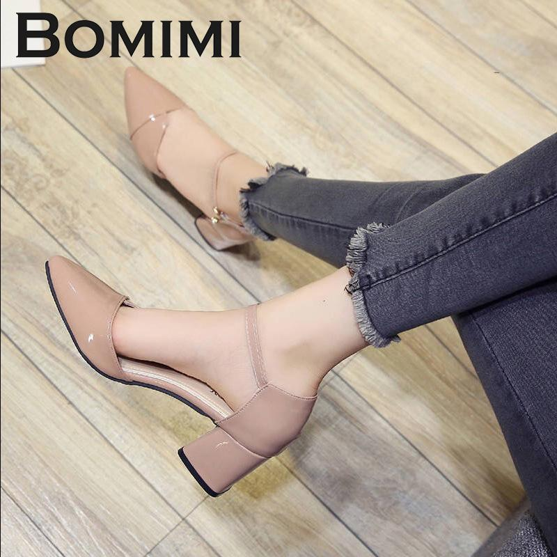 Dress Shoes Bomimi Women Pumps 6 Cm Heel Wedding Party Office Lady Work  Fashion Sandals Ladies Sexy Pointed Toe Women Pumps Silver Heels Dress Shoes  From ... cfd709f151d