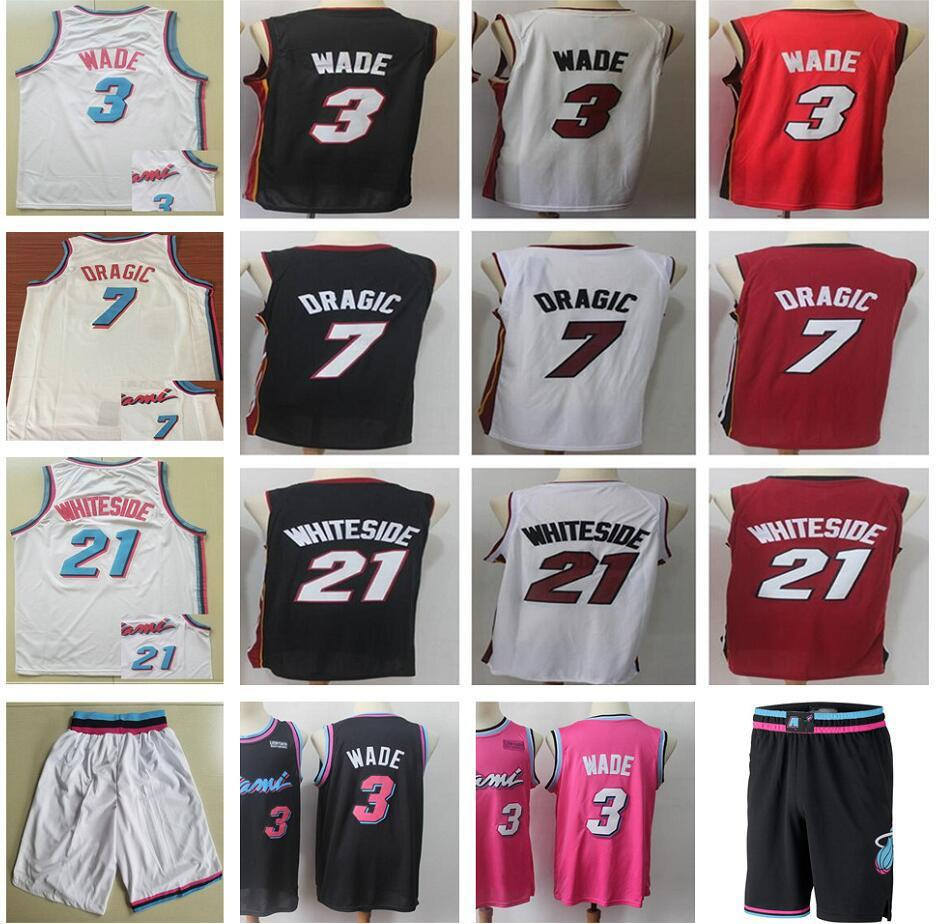 008b4e55133 ... cheapest 2019 stitched earned edition 3 dwyane wade jerseys new city  black white red 21 hassan
