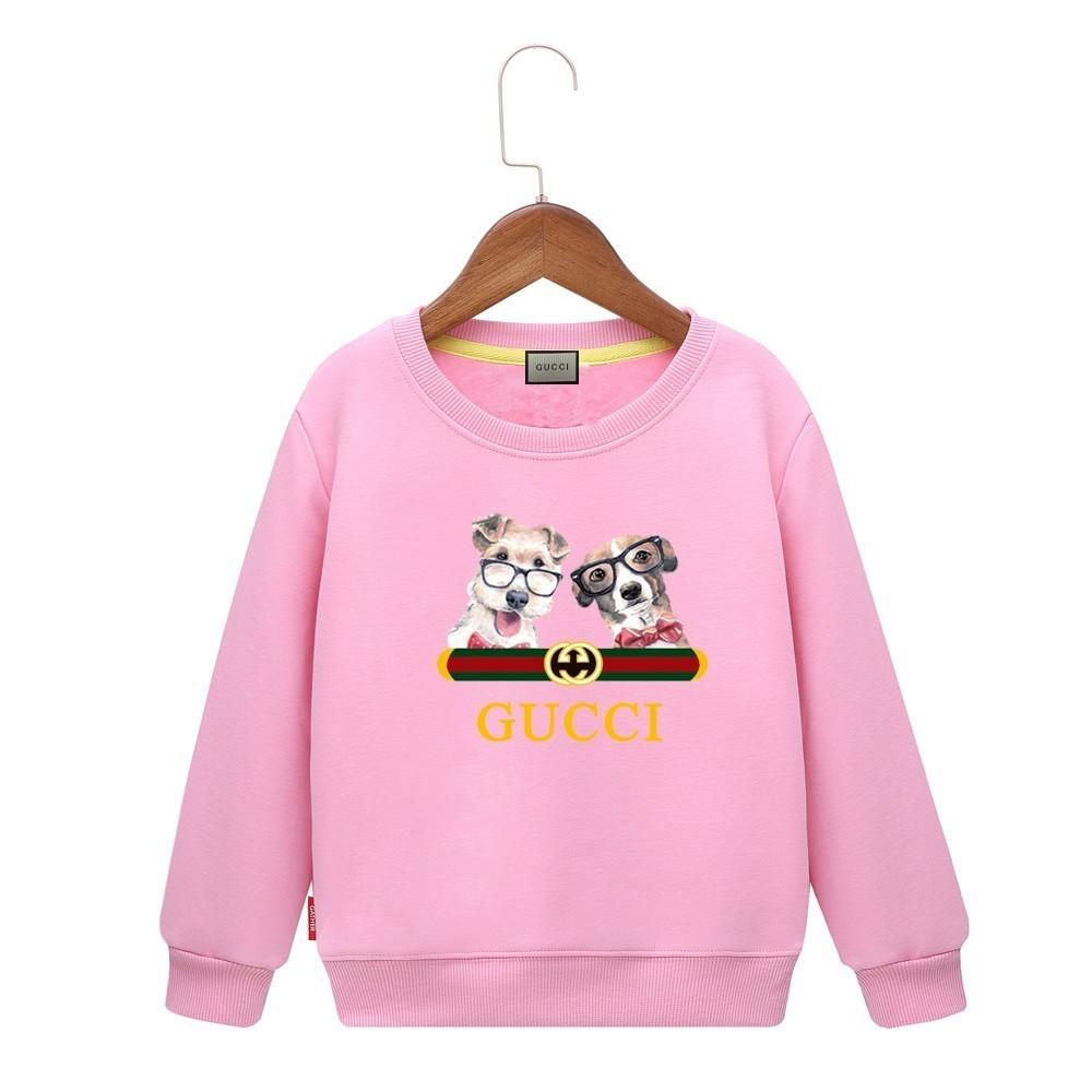 304799db5cf 2019 Kids Dog Hoodie Cartoon Pattern Comfortable Children Sweater Colors  Boys Baby Coats Jackets Clothing From Kids suit