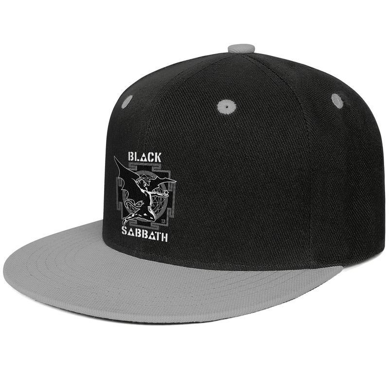 BLACK SABBATH Creature Maze Design Hip-Hop Caps Snapback Flat Brim Sun Hat Retro Adjustable