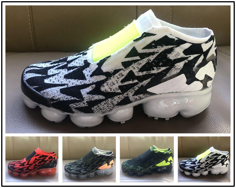 818eaf42d4805 Acquista Nike Air Max Airmax Vapormax 2019 Nuovo Plus Bambini Casual  Arcobaleno Neonati Ragazzi Ragazze Bambini Chaussures Sneakers Laceless  Ruess Sneakers ...