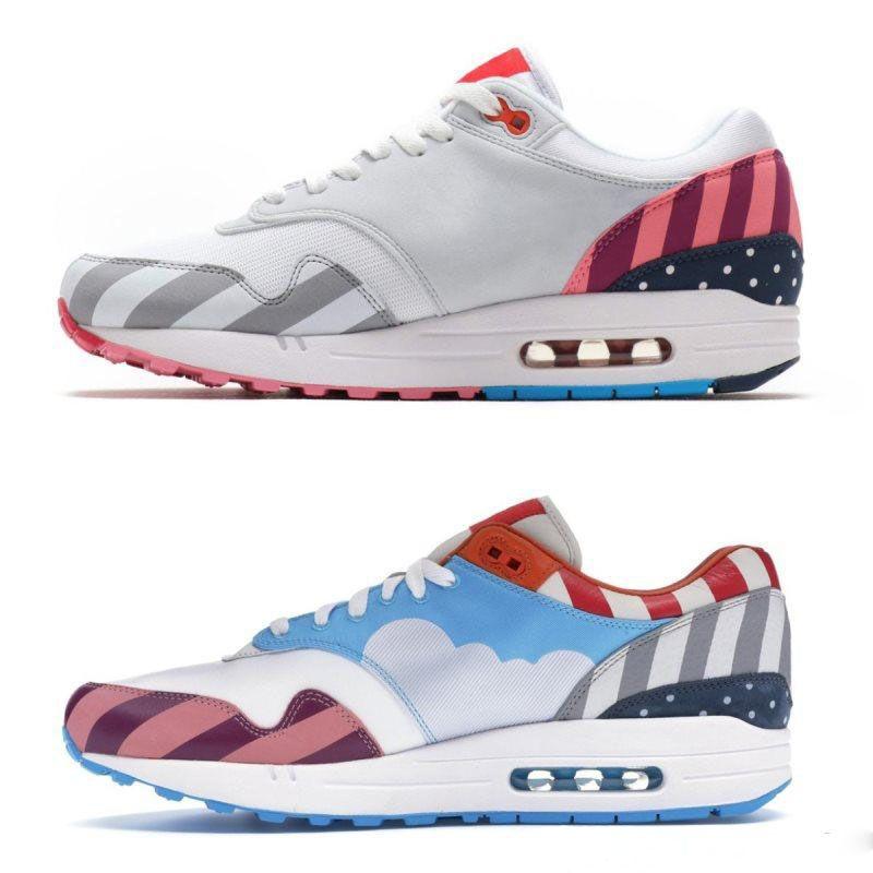 cc00b511c1a New Style Netherland Designer Piet Parra 1 White Multi Running Shoes ...