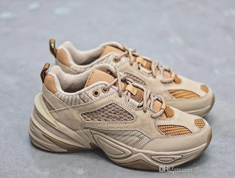 new style 9a5f2 fe57d Compre Nueva Llegada 2019 Zapatillas De Correr M2K Tekno SP De Calidad  Superior Hombres Mujeres Monarch The M2K Tekno Diseñador De Moda Trainer  Sneakers ...