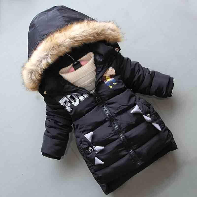 a6dad10b33ce Good Quality Winter Children Boys Down Cotton Jackets New Boys Thick ...