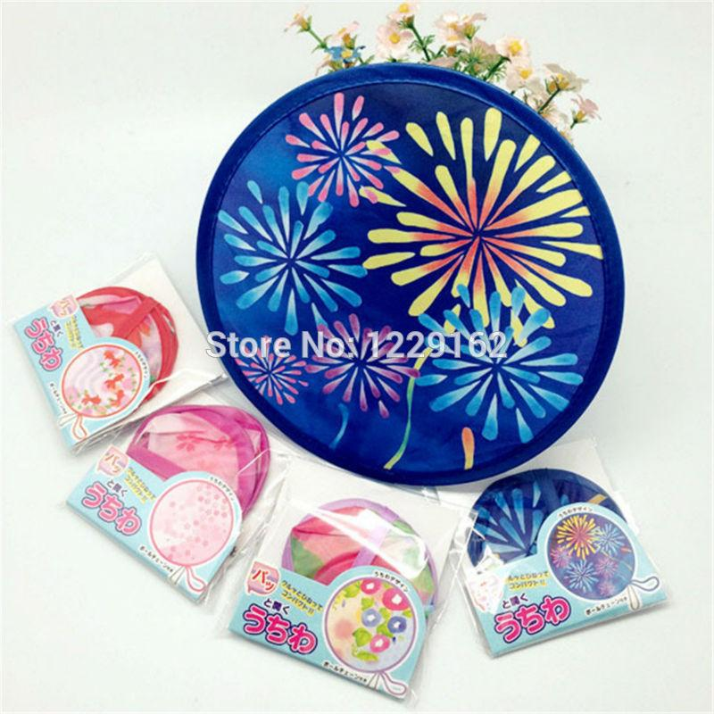Free shipping Various Nylon Portable Folding for gift cool summer hand /Flying disk creative party gift