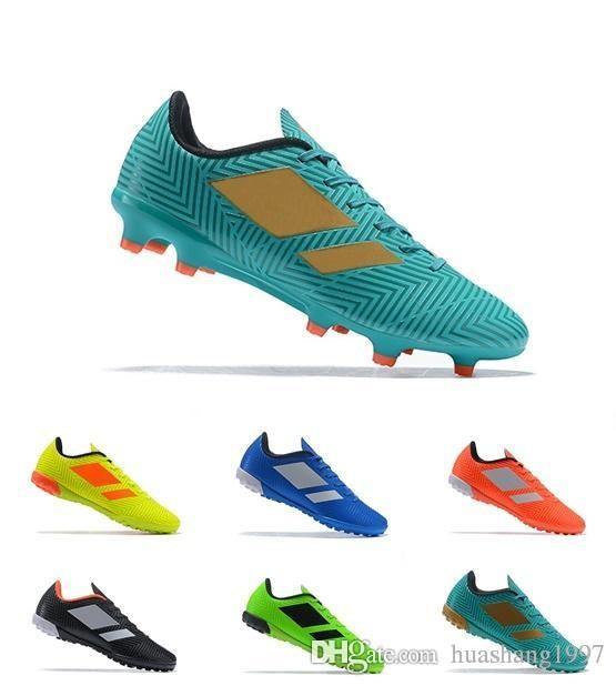 Compre 2019 Nueva Llegada Mens Turf Tacos De Fútbol Zapatos De Fútbol Para  Interiores Low Top Predator Tango 18 Zapatos Hombre 18.4 IN TF Botas De  Fútbol A ... 76136c17c39a2