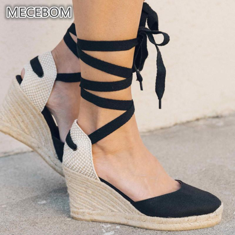 31c1dfbd5 Shoes Women Pump Black High Heel Wedges Ponited Toe Ankle Lace Up Cross  Strap Antiskid Bottom Party Casual Wedding Ladies 1123w Scholl Shoes Silver  High ...