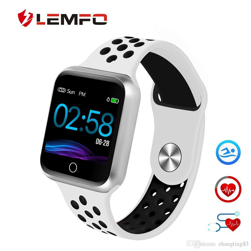 383ded78067f Smartband Comprar LEMFO S226 Reloj Inteligente Podómetro Monitor De Presión  Arterial De Frecuencia Cardíaca Smartwatch Varios Modos Deportivos Relojes  ...