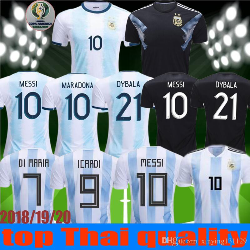 982c7fed551 2019 2019 2020 New Copa America MESSI Argentina Soccer Jersey 2018 19 20 DI  MARIA AGUERO DYBALA HIGUAIN ICARDI Trainin Football JerseyS Shirt From ...