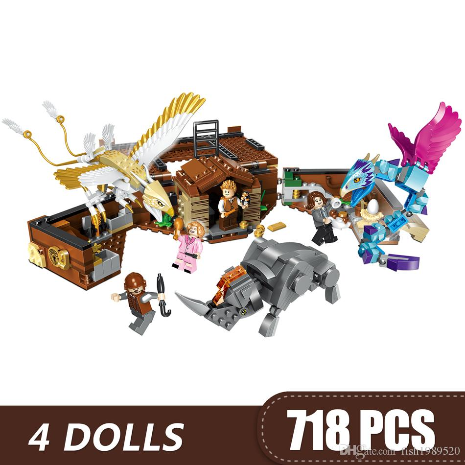 720PCS Small Building Blocks Toys Compatible with Legoe Magic suitcase Gift for girls boys children DIY