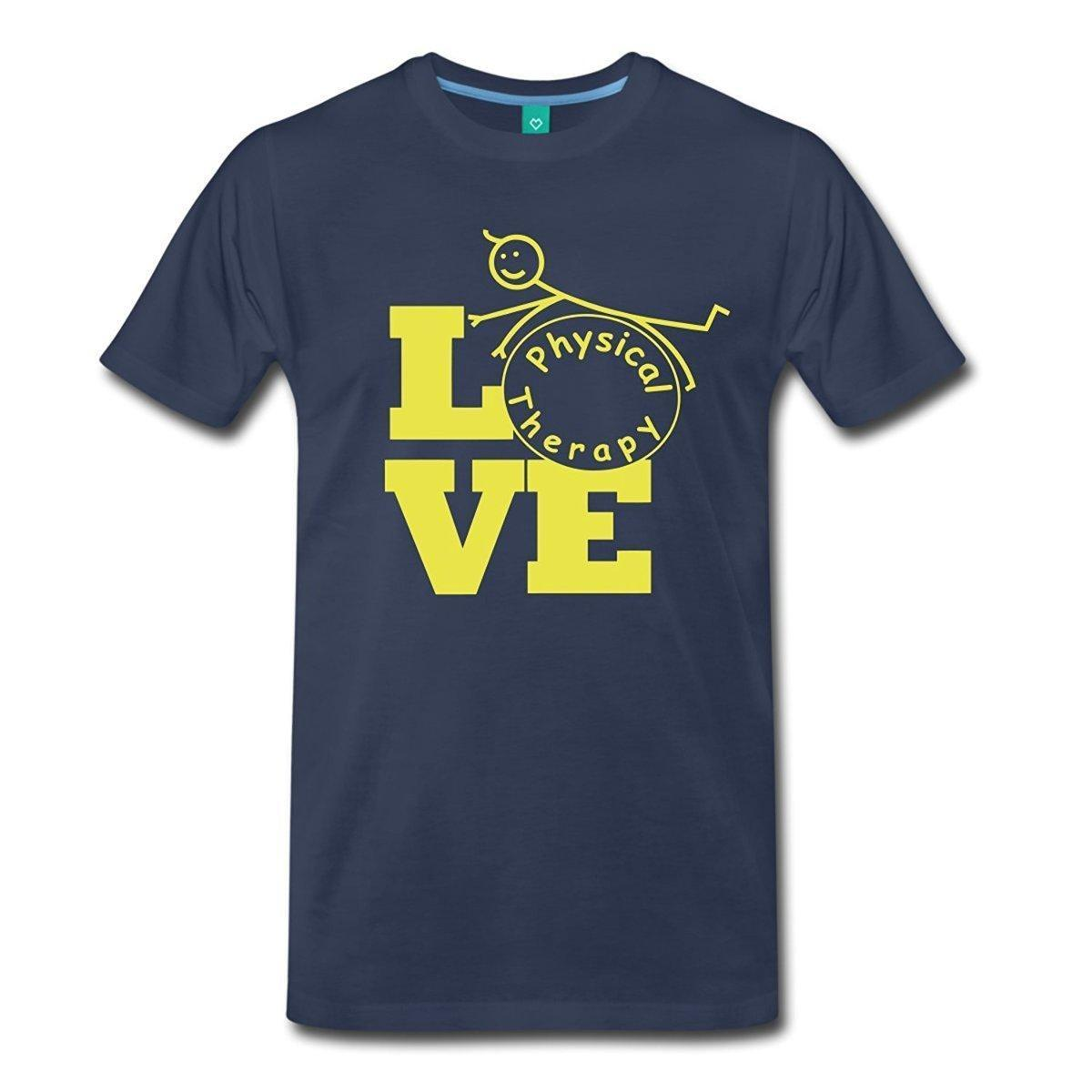 bc7164dd Random T Shirts Short Sleeve Printing Love Physical Therapy Physiotherapy  Crew Neck Shirt For Men Moto Shirts Tee T Shirts From Jie65, $14.67|  DHgate.Com