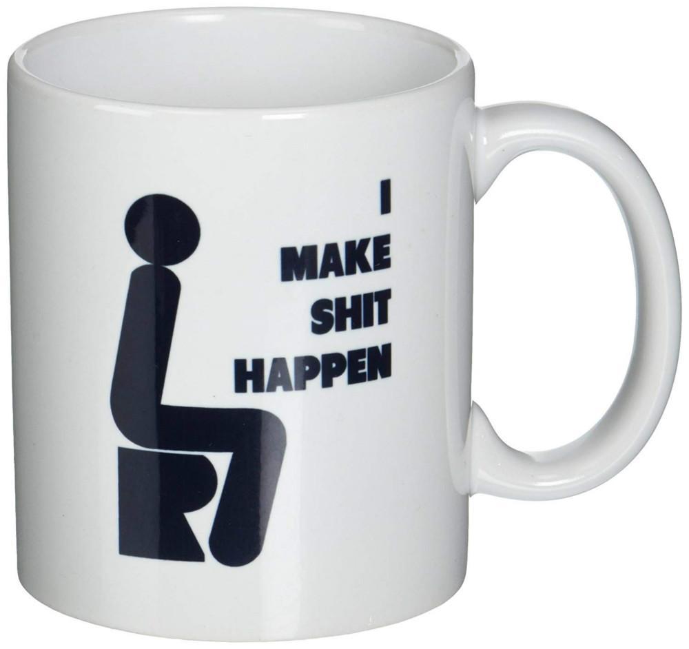 La Drôle Mugs Tasse Café Merde Fais Je À Arrive CtsQBdhrx