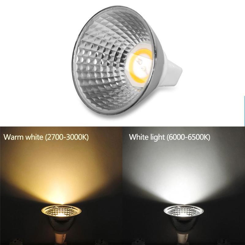 Spotlight Pour Halogen Remplacer Led Table Light Ampoule De Mr16 Dc12v 3 5w Cob Lampe Lampes Ac Lumière Gu5 wOXZNPk08n