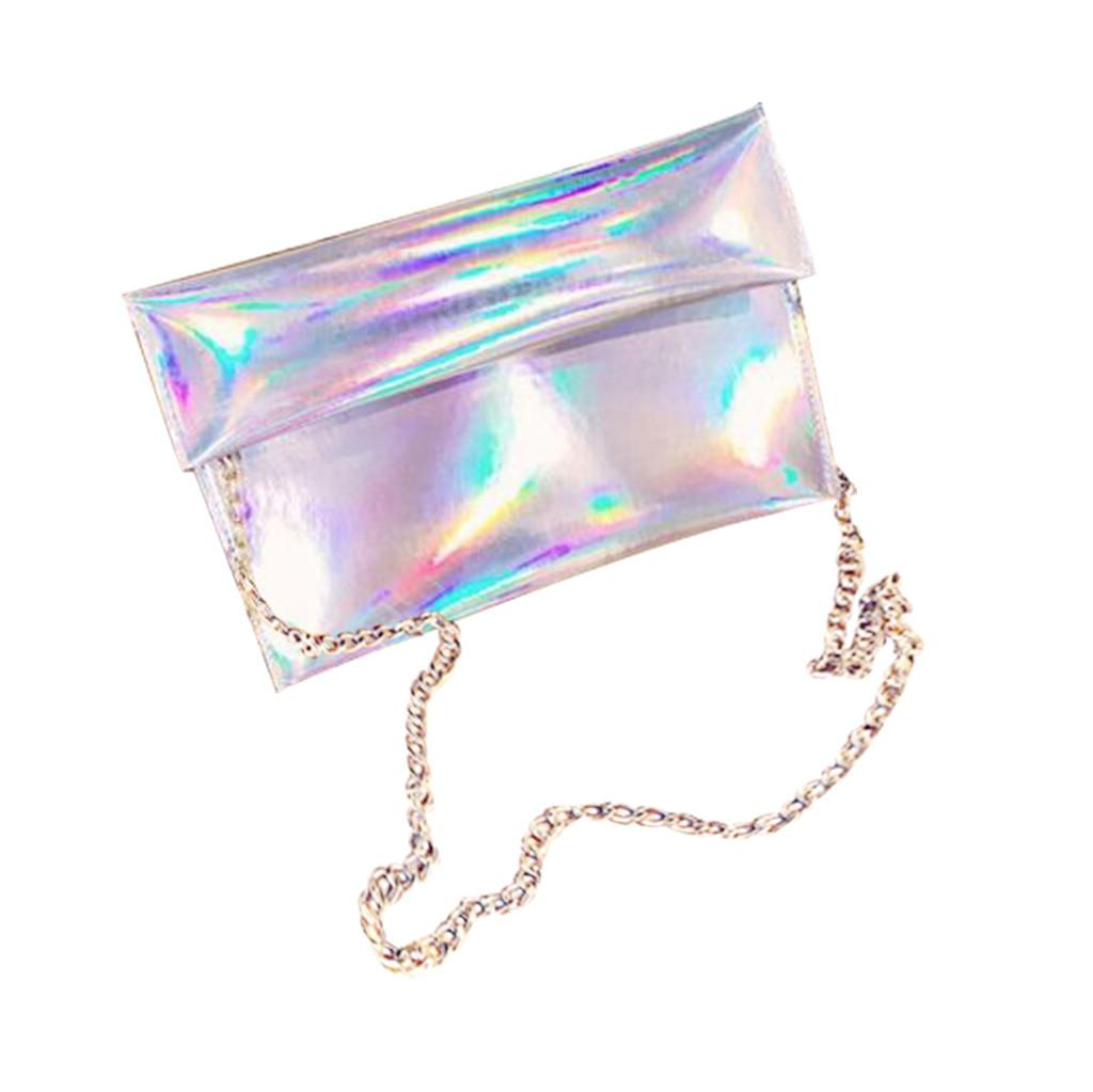 Fashion Shoulder Bag Women Wild Chain Mirror Envelope BagFashion Crossbody Bags For Women Messenger Bags For 2019