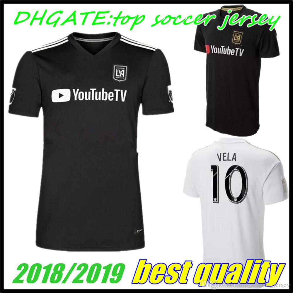 Special Version 2018 2019 Los Angeles Fc Home Away LAFC Soccer ... 3c9c629f5