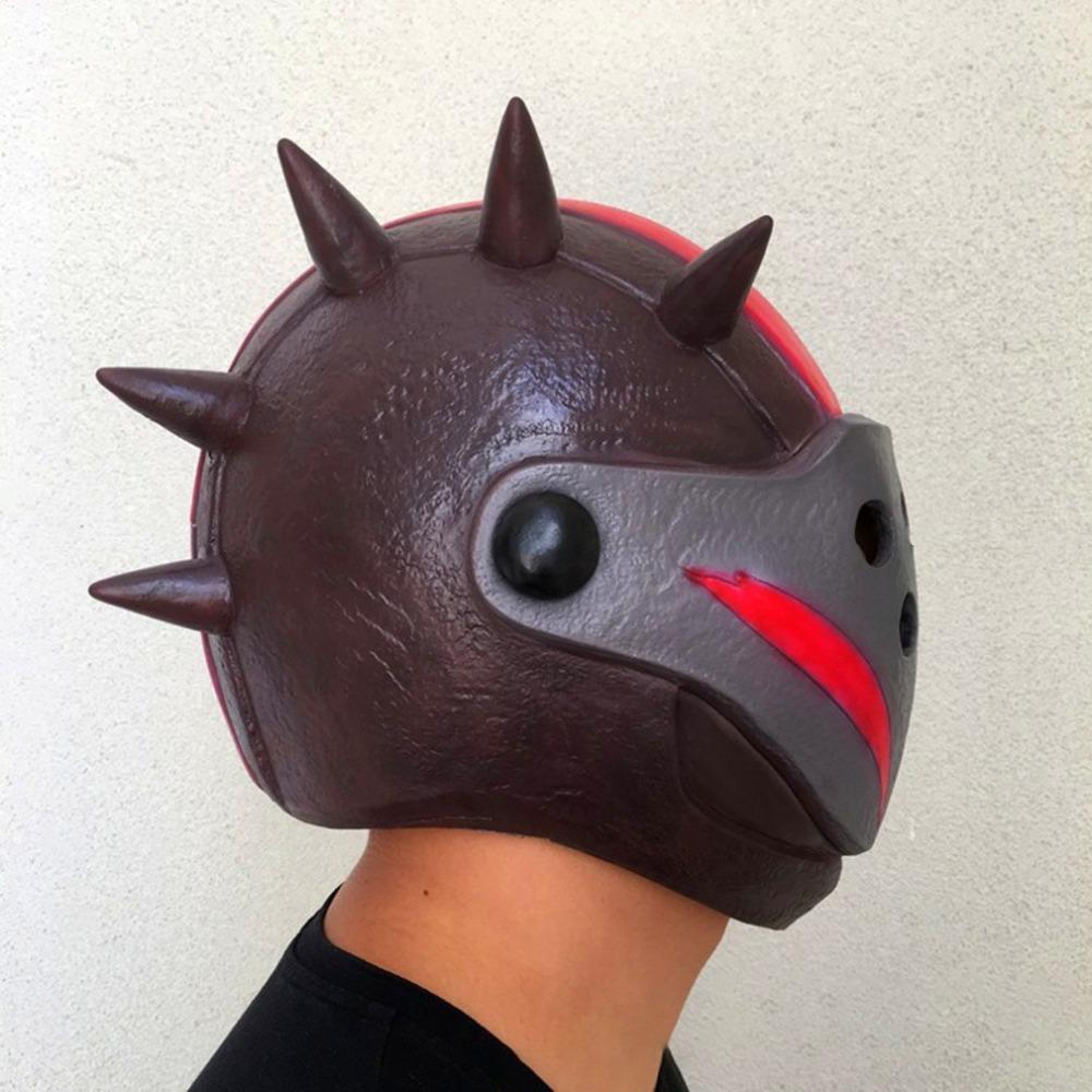 Juego Cara Accesorios Completa Juguete Látex Bola Para Halloween Cascos Cosplay Máscara Disfraces Duraderos Adultos De 54jRLA3