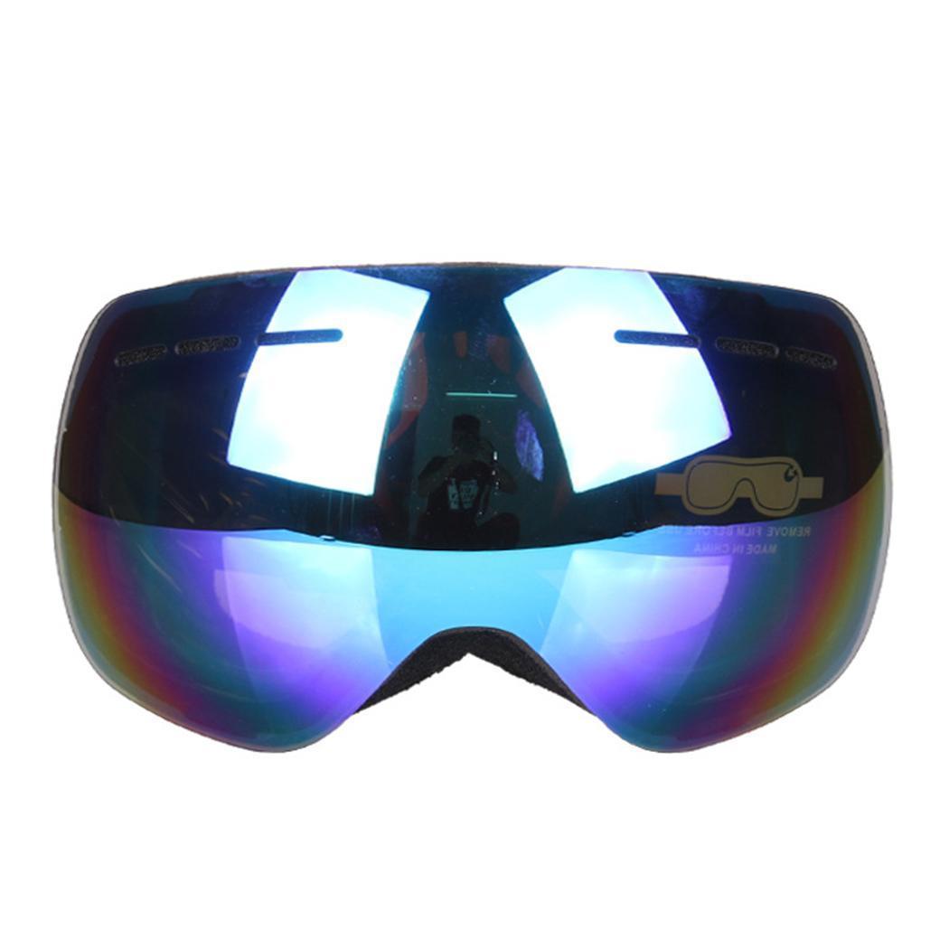 1b1a6e4c7b2 Red Anti-fog Double Blue Silver Glasses Unisex Ski Windproof Black Goggles  Lens Ski White Layer Pink Skiing Eyewear Cheap Skiing Eyewear Red Anti Fog  Double ...
