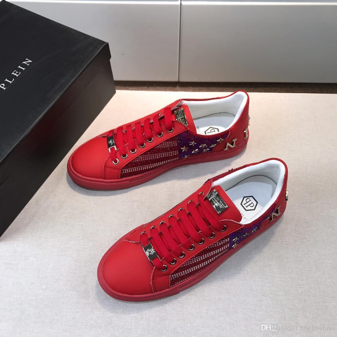 472804913c7 2019 German classic striped red men's casual shoes outdoor travel men's  sports shoes red fashion running shoes original box packaging DHL de