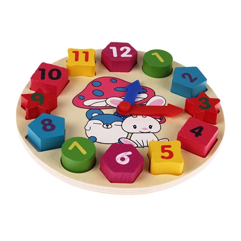 Spielzeug Bunte Digitaler Zug des hölzernen Kinderspielzeugs Pädagogisches Holzspielzeug Holzspielzeug