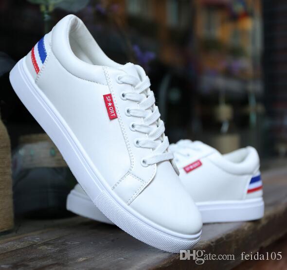 2673d266d5d Summer 2018 Men s Shoes New Flat Bottom Breathable Leisure Shoes Korean  Edition Student s Board Shoes W757 Men s Shoes Casual Shoes Shoes Online  with ...