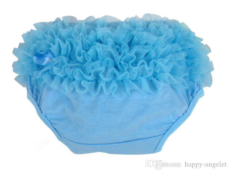 algodón del bebé de las colmenas de la gasa de Bloomer Tutu PP pantalones infantiles para niños pequeños Calzoncillos Cortos Falda Faldas Capas de pañal comprender el interior PP001