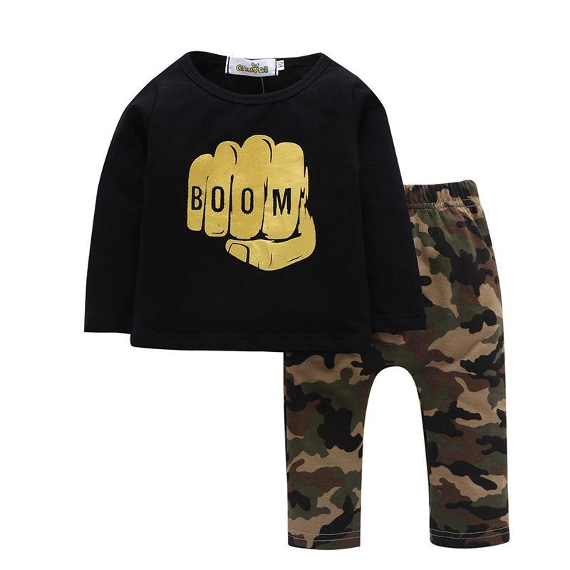 2019 Good Quality Boy Clothes Sets 2019 Autumn New Children Boys