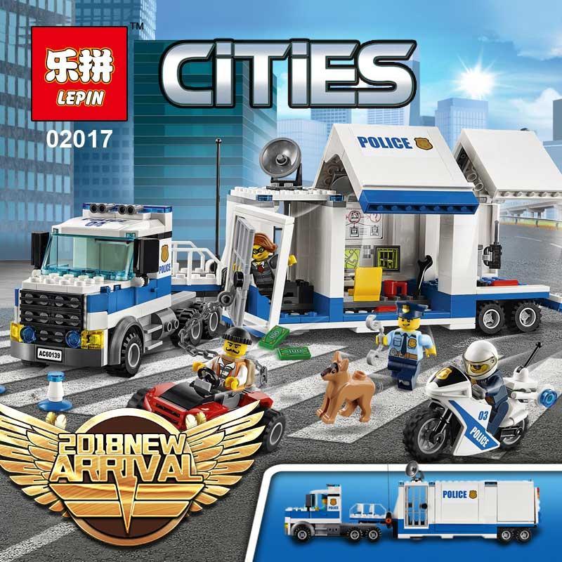 Compre Disponible Lepin 02017 Compatible Legoing 60139 Estación De Policía  Móvil Bloques De Construcción Ladrillos Serie De La Ciudad Modelo Juguetes  Para ... 9888b98c159