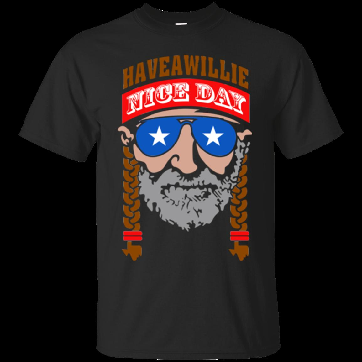 ff6be7c2 Willie Nelson Have A Willie Nice Day T Shirt Tees Clothing Awesome T Shirt  Sites Tees Designs From Printforless51, $11.58| DHgate.Com