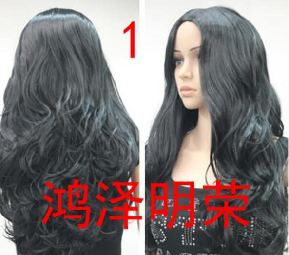 100% Real Hair! Long Wavy Wig Cosplay Anime Hair Natural Hair Wigs For  Women Cheap Wigs Online Best Synthetic Wig From Dingyingying68687 bbf422800492