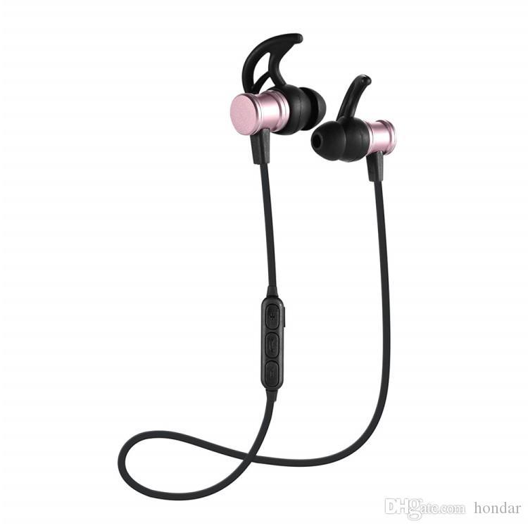 98882f242e0 Repuesto Para Celulares SLS100 Auriculares Bluetooth Inalámbricos Música  Deporte Auriculares V4.1 Cabeza Magnética Estéreo Inear Auriculares  Bluetooth ...