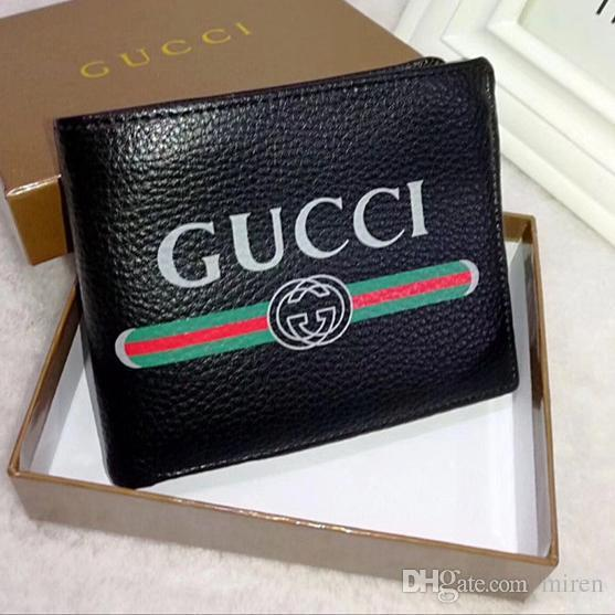 ff8e8b78751 AAA+ Top Quality Luxury Designer Classic Famous Men Women Famous Genuine  Leather Credit Card Holder Mini Wallet With Box Ladies Handbags Leather  Handbags ...